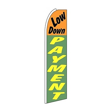 NeoPlex Low Down Payment Swooper Flag