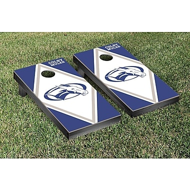Victory Tailgate NCAA Diamond Version Cornhole Game Set; Colby Mules