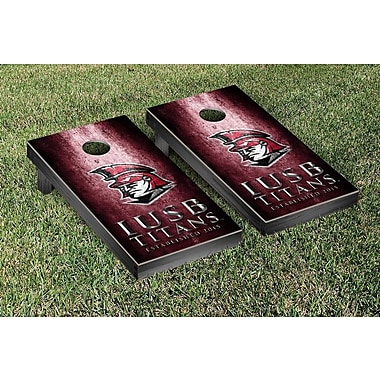 Victory Tailgate NAIA Metal Version Cornhole Game Set; Indiana South Bend Titans