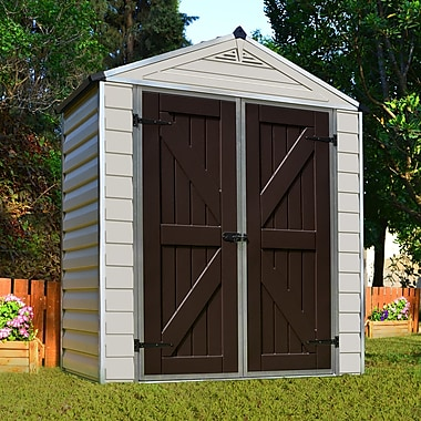Palram SkyLight? 6 ft. 1 in. W x 3 ft. 4 in. D Plastic Storage Shed