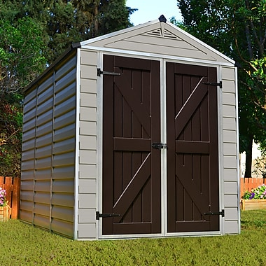 Palram SkyLight? 6 ft. 1 in. W x 7 ft. 7 in. D Plastic Storage Shed