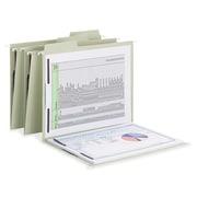 "Smead FasTab Hanging Fastener Folder, Letter, 8 1/2"" x 11"" Sheet Size, 2 Fastener, 1/3 Tab Cut, 18 / Box (SMD65120)"