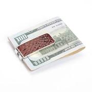Royce Leather Luxury Alligator Money Clip (816-COGNAC-ALG)