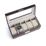 Royce Leather Luxury 5 Watch Display Case(971-CN-AR)