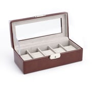 Royce Leather Luxury 5 Watch Display Case(971-BT-AR)