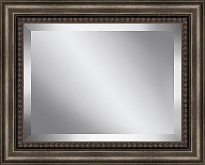 Ashton Wall D cor LLC Traditional Wood Framed Beveled Plate Glass Mirror; XX Large
