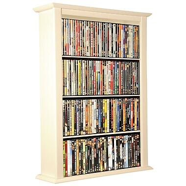 Venture Horizon VHZ Entertainment Single Wall Mounted Storage Rack; White