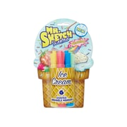 Mr. Sketch Scented Washable Markers, Ice Cream, Chisel Tip, Assorted, 6/pk