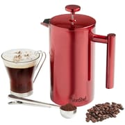 VonShef Double Wall Stainless Steel French Press Coffee Maker