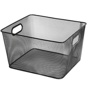 YBM Home Mesh Open Bin Storage Basket