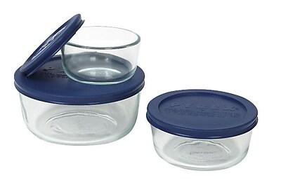Pyrex 3 Container Food Storage Set WYF078276556169
