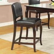Wildon Home   24'' Bar Stool with Cushion (Set of 2)