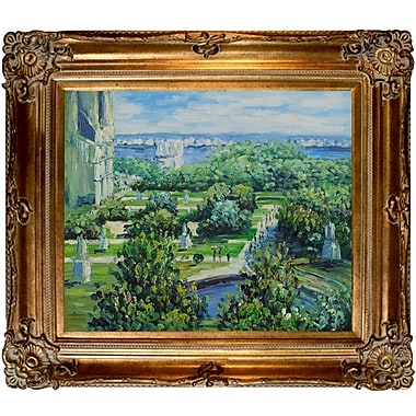 Tori Home Les Tuileries, 1876, Musee Marmottan by Claude Monet Framed painting