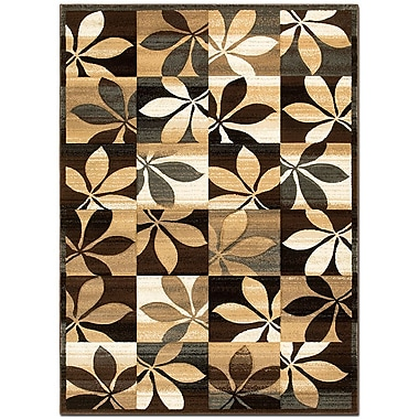 AllStar Rugs Hand-Woven Chocolate Area Rug; Rectangle 5'2'' x 7'2''