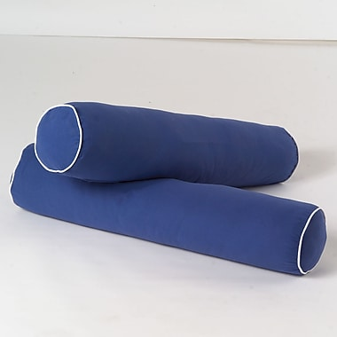 Maxtrix Kids Bolster Cover (Set of 2); Blue / White