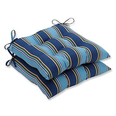 Pillow Perfect Bonfire Regata Outdoor Chair Cushion (Set of 2)