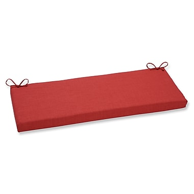 Pillow Perfect Rave Outdoor Bench Cushion; Flame