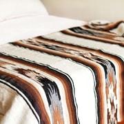 Novica Artisan Crafted Striped Alpaca Wool Throw Blanket