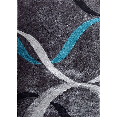 Rug Factory Plus Lola Hand-Tufted Gray Area Rug