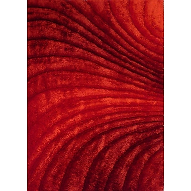Rug Factory Plus Hand-Tufted Red Area Rug