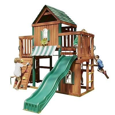 Swing-n-Slide Winchester Wood Complete Swing Set
