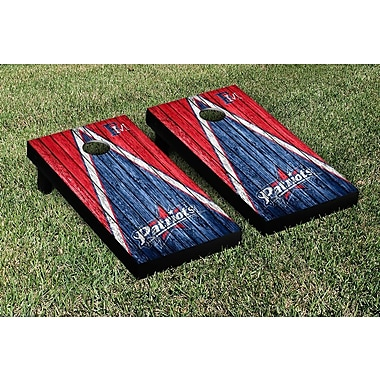 Victory Tailgate Triangle Weathered Version Cornhole; Francis Marion Patriots