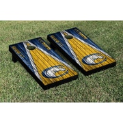 Victory Tailgate Triangle Weathered Version Cornhole; California Davis Aggies