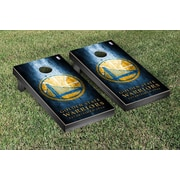 Victory Tailgate NBA Metal Version Cornhole Game Set; Golden State Warriors