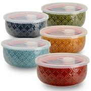 Signature Housewares 10-Piece Storage Bowl Set (Set of 5)