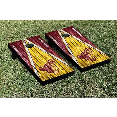 Victory Tailgate Triangle Weathered Version Cornhole; Armstrong State Pirates