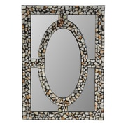 Crestview Stone Inlaid Mirror