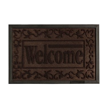 AttractionDesignHome Welcome Engraved Doormat
