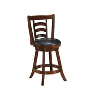 Best Quality Furniture 24'' Swivel Bar Stool (Set of 2)