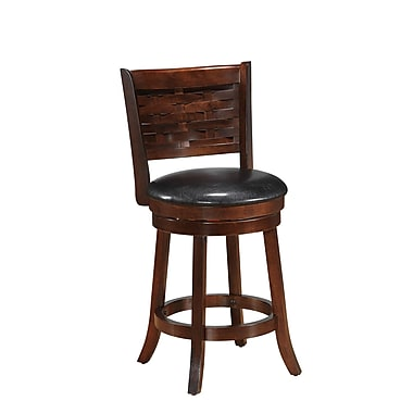 Best Quality Furniture 24'' Swivel Bar Stool with Cushion