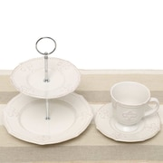 ZiaBella Fleur De Lis 5 Piece Tea Setting