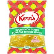 Kerr's – Bonbons acidulés au citron, 180 g