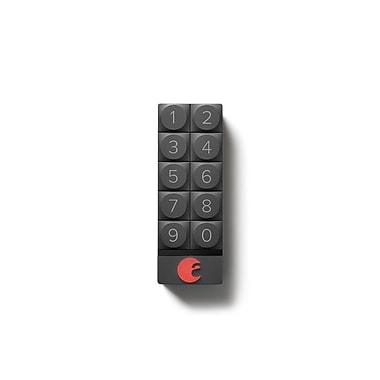 August Home – Pavé numérique intelligent August, gris foncé, « accès à base de code de sécurité »