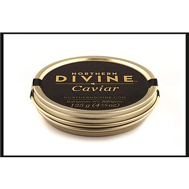 Northern Divine Sturgeon Caviar, Certified Organic, 125 grams
