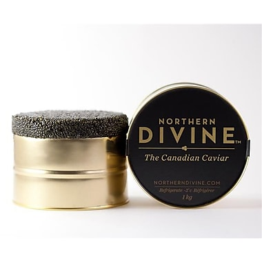 Northern Divine Sturgeon Caviar, Certified Organic, 1kg