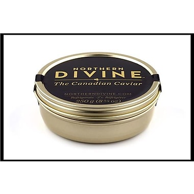 Northern Divine Sturgeon Caviar, Certified Organic, 250 grams