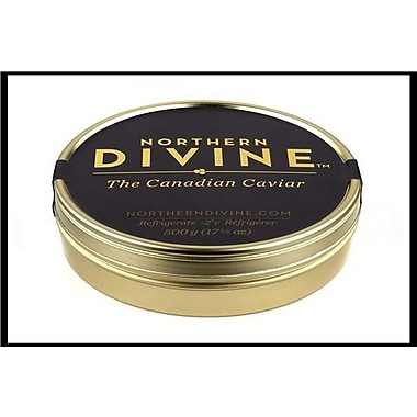 Northern Divine Sturgeon Caviar, Certified Organic, 500 grams