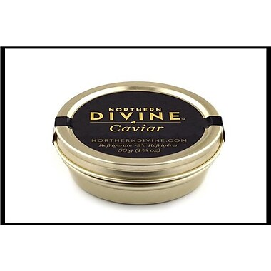 Northern Divine Sturgeon Caviar, Certified Organic, 50 grams