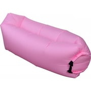 Cool-de-Sac Inflatable Air Lounge Bag, Nylon, 7.2', Pink