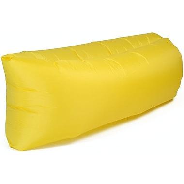 Cool-de-Sac - Sofa gonflable, nylon, 7,2 pi, jaune