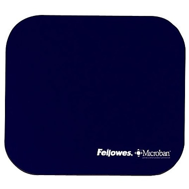 Fellowes® Microban Ultra Thin Mouse Pad, Navy (5933801)