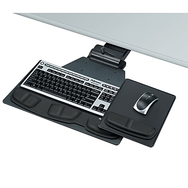 Fellowes® Professional Series Corner Executive Keyboard Tray, (8035901)