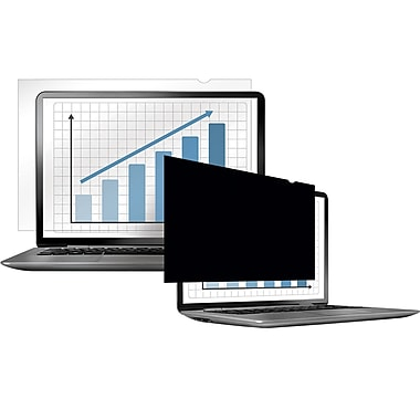 Fellowes® - Filtres de confidentialité opaques PrivaScreen™, 15,4 po larg. (4800701)