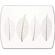 Fellowes® - Tapis de souris optique ultra mince, image de feuilles givrées