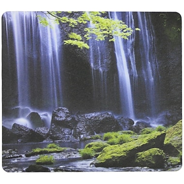 Fellowes® Recycled Optical Mousepad, Waterfall (5912001)