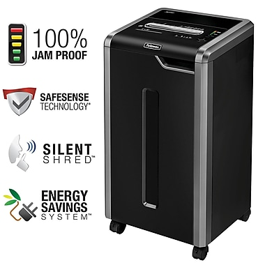 Fellowes® Powershred® C-325i 24-Sheet Strip-Cut Shredder (3830001)